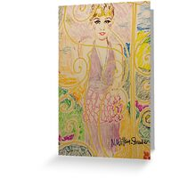 Gatsby Style Greeting Card