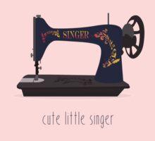 Cute Little Singer One Piece - Long Sleeve