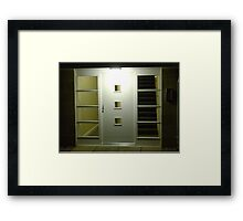 Light & Dark (entryway)  Framed Print