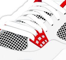 J4-Fire-Red Sticker