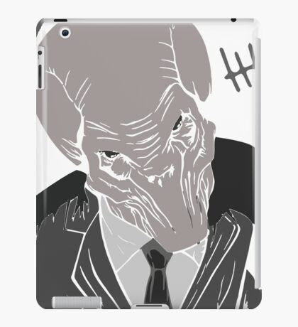 The Silence/ Doctor Who iPad Case/Skin