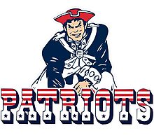 New England Patriot Old 2 by haroldlfonville