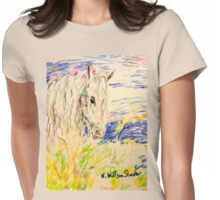 Fairytale Horse Womens Fitted T-Shirt