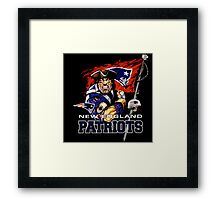 Patriot new england Framed Print
