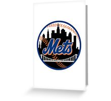 New York Mets2 Greeting Card