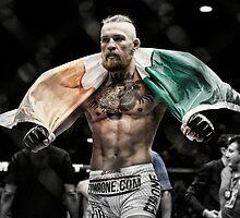 Conor McGregor - Victorious by redbubblegod