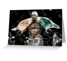 Conor McGregor - Victorious Greeting Card
