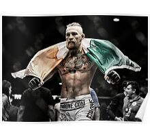 Conor McGregor - Victorious Poster