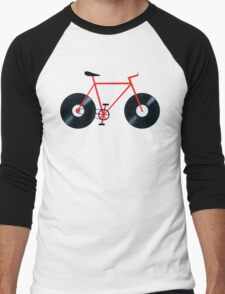 Vinyl Bicycle  Men's Baseball ¾ T-Shirt