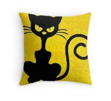 ANARCHAT 2016 00 by RootCat Throw Pillow