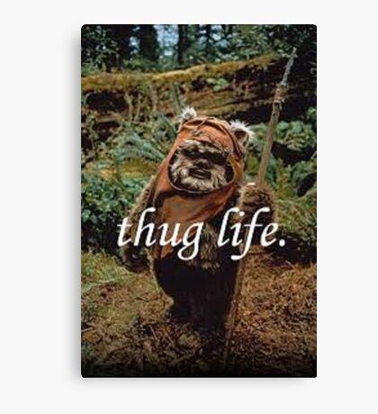 Ewok Thug Life Canvas Print