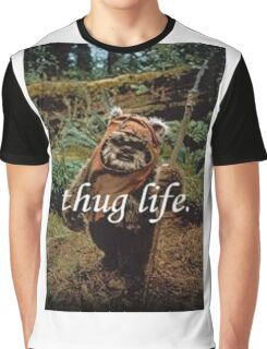Ewok Thug Life Graphic T-Shirt