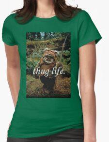 Ewok Thug Life Womens Fitted T-Shirt