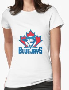Toronto Blue Jays Logo Womens Fitted T-Shirt