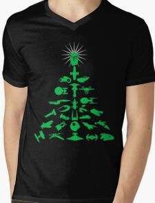Happy Geeksmas! Mens V-Neck T-Shirt