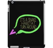 Liam Snake Habitat Tweet Design iPad Case/Skin
