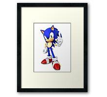 (HD) Sonic Framed Print