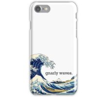 Gnarly Great Wave iPhone Case/Skin