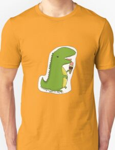 Dinos can't eat ice cream cones. T-Shirt