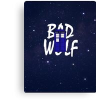 Bad Wolf Variation Canvas Print