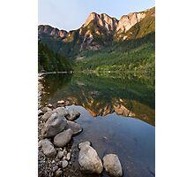 Silver Lake Mountain Reflection Photographic Print