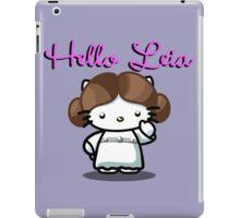 Hello Leia iPad Case/Skin