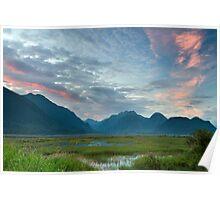 Pitt-Addington Marsh Sunset Poster