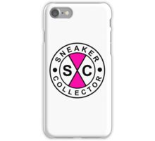 Sneakers Collector- Pink iPhone Case/Skin