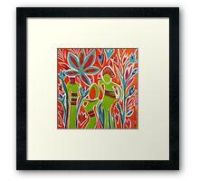 Forest Children Framed Print