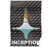 INCEPTION - Minimal Fan Art Poster Poster