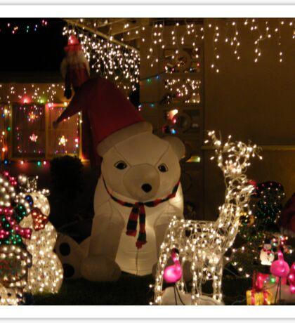 Christmas lights..... Sticker