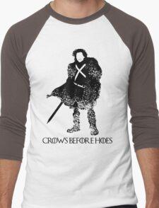 Jon Snow Men's Baseball ¾ T-Shirt
