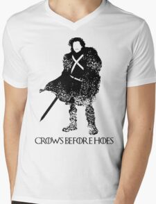 Jon Snow Mens V-Neck T-Shirt