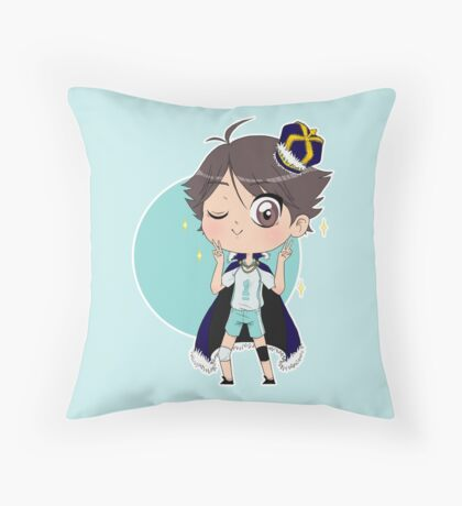 Grand King Oikawa Throw Pillow