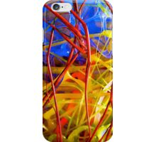 The Red Bush - Photograph of Mixed Media Work iPhone Case/Skin