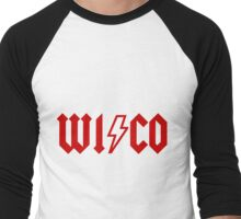 wisco acdc Men's Baseball ¾ T-Shirt