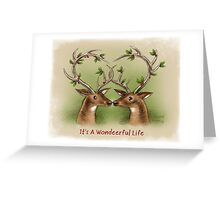 It's a Wondeerful Life Greeting Card