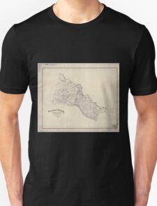 Civil War Maps 0478 Hanover County Virginia Unisex T-Shirt