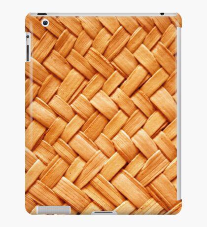 WOVEN STRAW iPad Case/Skin