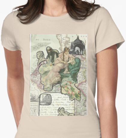 Armchair Traveler Womens Fitted T-Shirt