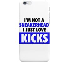 I'm not a Sneakerhead I just Love Kicks- Royals iPhone Case/Skin