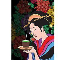 Green tea. Photographic Print