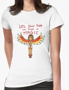 Smite - Power of Magic (Chibi) Womens Fitted T-Shirt