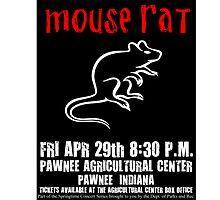 Mouse Rat Concert Poster by lizziecanoni
