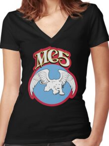 MC5 Women's Fitted V-Neck T-Shirt