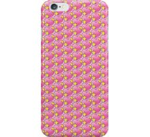 Pink Heart Emoji Pattern iPhone Case/Skin