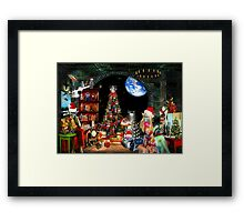 Christmas at the Kleegs Framed Print