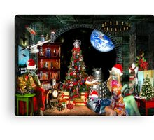 Christmas at the Kleegs Canvas Print