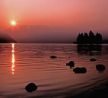 Sunrise at Lake Eleanor by James2001