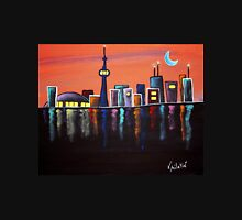 Toronto Skyline Whimsical Art by Valentina Miletic Unisex T-Shirt